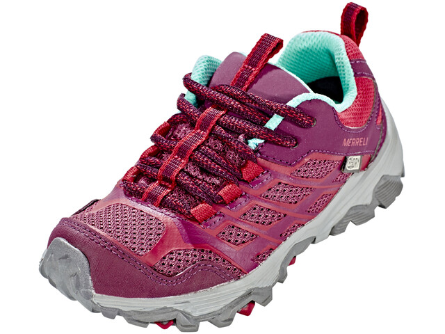 Merrell Moab FST Low Waterproof - Chaussures Enfant - rose